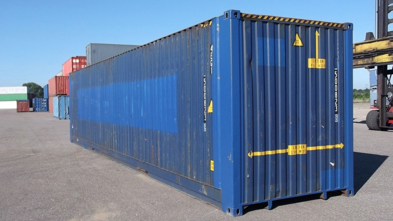 45 ft 45 fuss container. Black Bedroom Furniture Sets. Home Design Ideas